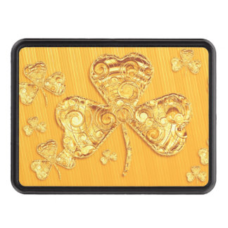 Golden Lucky Clover - Hitch Cover