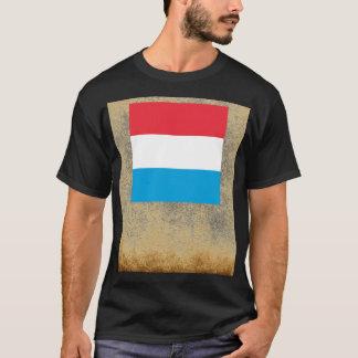 Golden Luxembourg Flag T-Shirt