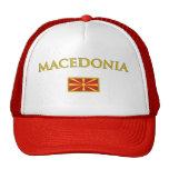 Golden Macedonia Mesh Hats
