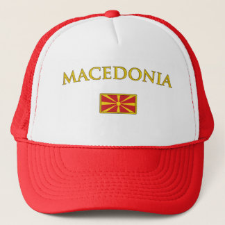 Golden Macedonia Trucker Hat