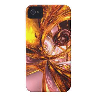 Golden Maelstrom Abstract Blackberry Bold Case