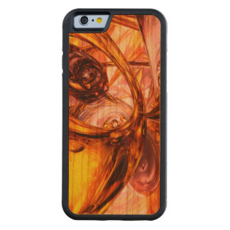 Golden Maelstrom Abstract Carved® Cherry iPhone 6 Bumper