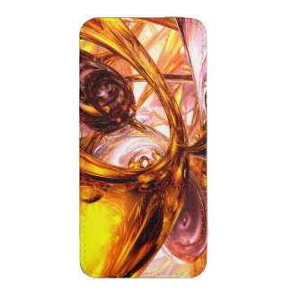 Golden Maelstrom Abstract iPhone SE/5/5s/5c Pouch
