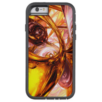 Golden Maelstrom Abstract Tough Xtreme iPhone 6 Case
