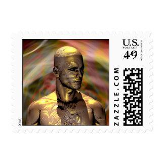 Golden Man Postage