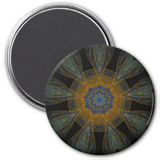 Golden Mandala Magnet