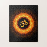 Golden Mandala with OM Puzzle
