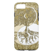 Golden Mandala Yin Yang iPhone 8/7 Case (<em>$34.80</em>)