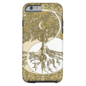 Golden Mandala Yin Yang Tough iPhone 6 Case (<em>$34.80</em>)