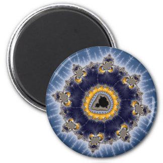 Golden Mandelbrot - Fractal Magnet