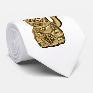 Golden Maneki Neko 01.2 Neck Tie