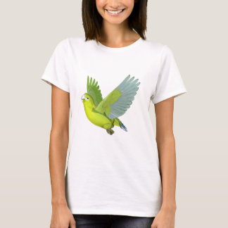 Golden-Mantled Racket Tailed Parrot T-Shirt