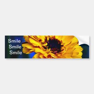 Golden Marigold flower and meaning Bumper Sticker