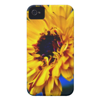 Golden Marigold flower and meaning iPhone 4 Case-Mate Case