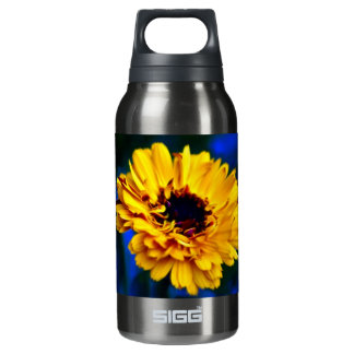 Golden Marigold flower and meaning Insulated Water Bottle