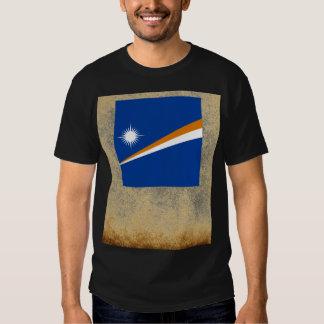 Golden Marshall Islands Flag Tees