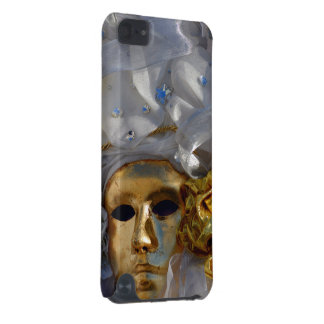 Golden Mask From The Carnival of Venice iPod Touch (5th Generation) Case