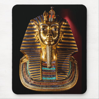 Golden mask of tsutankamen mouse pad
