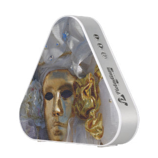 Golden Mask - The Carnival of Venice, Italy Bluetooth Speaker
