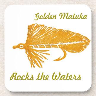 """Golden Matuka"" Streamer Fly Coaster"