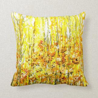 Golden Meadow Pillow