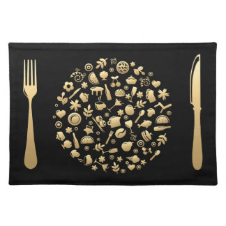 Golden Meal #1 Placemat