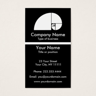 Golden Mean Business Card