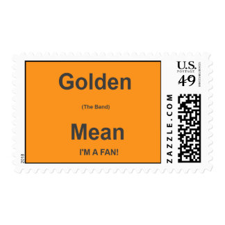 Golden Mean U.S. Postage