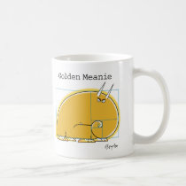 GOLDEN MEANIE by Sandra Boynton Coffee Mug