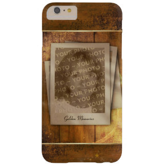 Golden Memories (customizable) Barely There iPhone 6 Plus Case