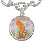 golden mermaid charm
