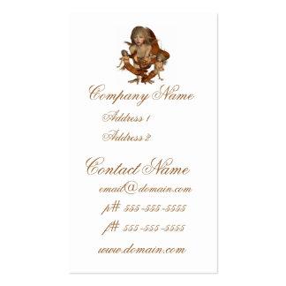 Golden Mermaids Business Cards