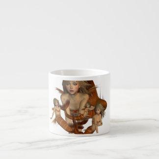 Golden Mermaids  Specialty Mug Espresso Cup