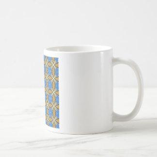 GOLDEN MESH! CLASSIC WHITE COFFEE MUG