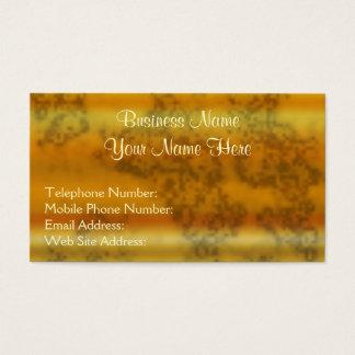 Golden Metallic-effect III Business Cards