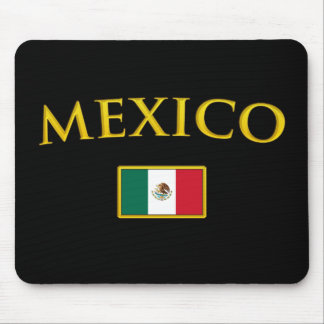 Golden Mexico Mouse Pad