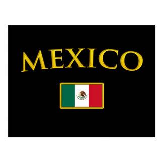 Golden Mexico Postcard