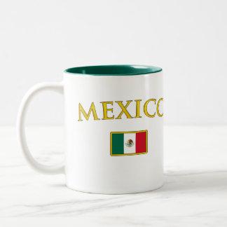Golden Mexico Two-Tone Coffee Mug