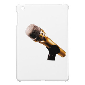 Golden Microphone iPad Mini Cases