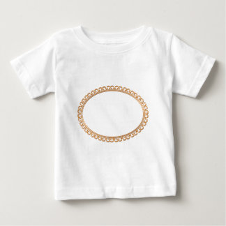 Golden Mirror Frame Template - Add your TXT or IMG Tee Shirt