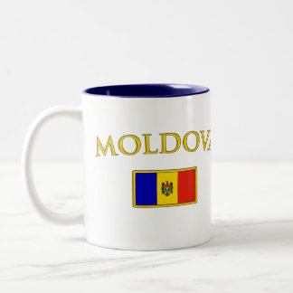 Golden Moldova Mugs