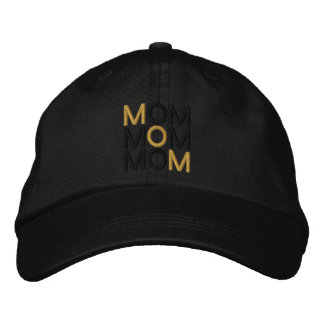 Golden Mom Embroidered Baseball Hat