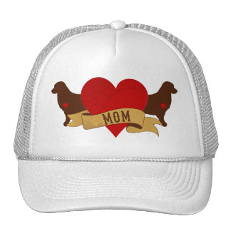 Golden Mom [Tattoo style] Trucker Hat
