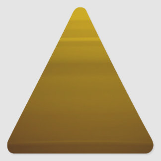 Golden moment triangle sticker