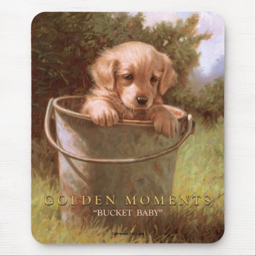 GOLDEN MOMENTS MOUSE PAD