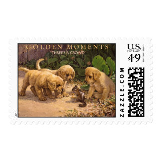 GOLDEN MOMENTS POSTAGE STAMP