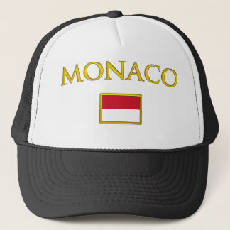 Golden Monaco Trucker Hat