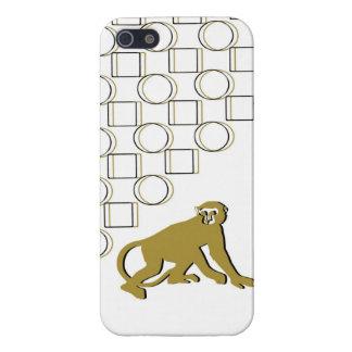 Golden Monkey Business Digital Art IPhone Case