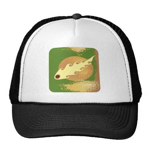 Golden Moon Effect Trucker Hat