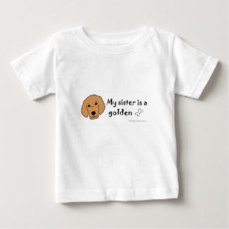 golden -more dog breeds baby T-Shirt